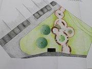 Studenti Uměleckoprůmyslové akademie navrhli úpravy prostoru za zimním stadionem ve Světlé nad Sázavou.