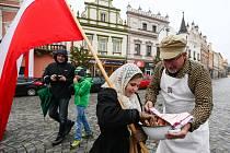 Oslavy 28. října v Havlíčkově Brodě.