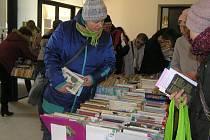 V úterý 20. března začala v Krajské knihovně Vysočiny tradiční a oblíbená burza knih.