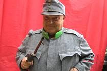 František Valeš je v uniformě dobrého vojáka Švejka nepřekonatelný.