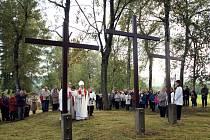 Svěcení křížů v Krucemburku