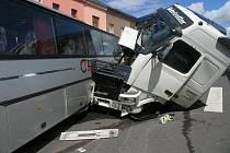 Při nehodě nebyl naštěstí nikdo zraněn