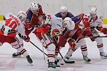 Havlíčkobrodští hokejisté rozhodující utkání o setrvání v první lize nezvládli. V Prostějově inkasovali ve druhé třetině pět branek a po porážce jsou odsouzeni k sestupu o soutěž níž.
