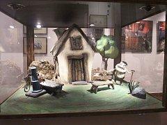 Výstava k animovanému českému filmu Fimfárum aneb Do třetice všeho dobrého.