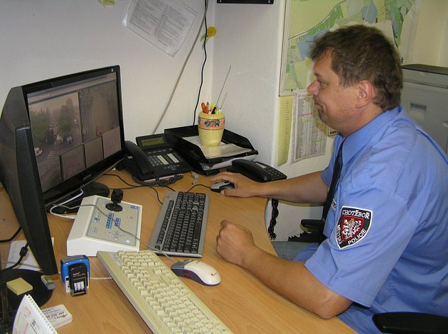 Kamerový systém v Chotěboři se rozšíří, a to díky dotaci z Kraje Vysočina. Ilustrační foto:
