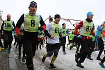 Běh do vrchu v Libici nad Doubravou
