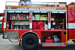 Cisterna chotěbořských dobrovolných hasičů.