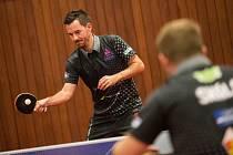 Tomáš Tregler zařídil v zápase s TJ Ostrava dva body.