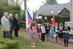 Součástí akce bylo i hudební vystoupení dětí pod vedením Markéty Viterové.