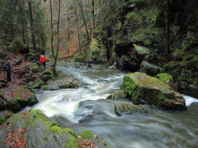 Klub českých turistů Havlíčkův Brod letos pořádal již 35.novoroční sestup do údolí řeky Doubravy.