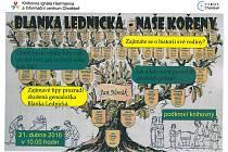 Ve čtvrtek 21. dubna chystá zajímavou přednášku zkušené genealožky Blanky Lednické Knihovna Ignáta Herrmanna v Chotěboři.