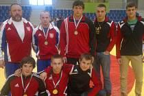 Otec zápasu. Tím je v brodské Jiskře Zdeněk Švec (nahoře vlevo), který se svým trenérským týmem a svými svěřenci získal u nás uznávaný respekt.