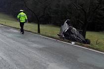 Řidič zahynul.