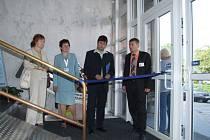 V pondělí 14. května byla rampa slavnostně otevřena.