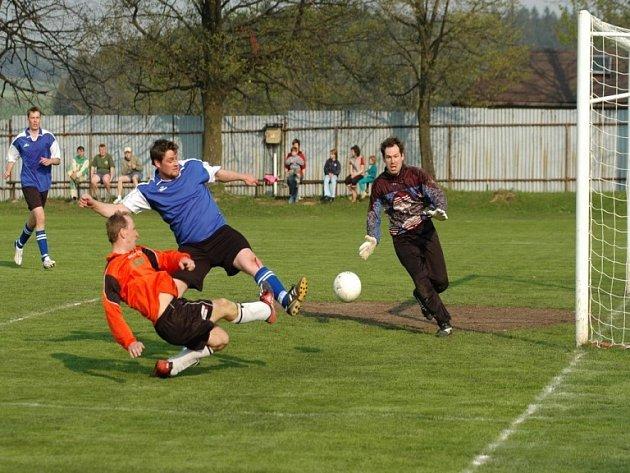 Mohli rozhodnout v nastaveném čase. Jen o gól prohráli haberští hráči ve žďárském Herálci. V nastaveném čase však dvakrát zahodili vyloženou šanci.