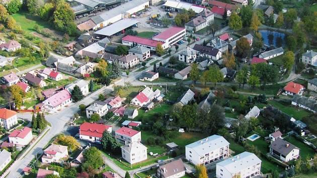 Obec Lípa.
