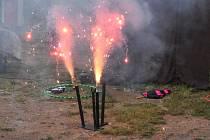 Svatojánská noc prozářená ohněm byla pro naše předky symbolem tajemství a kouzel. Ilustrační foto.