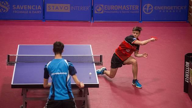 Šimon Jadrný zvládl finále na jedničku.