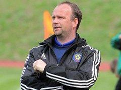 Trenér jihlavských dorostenců Kamil Průša byl rád, že se nemusel se svým týmem do posledních kol bát o ligovou příslušnost a zachránil se s malým předstihem.