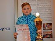 Roli největšího favorita naplnil dvanáctiletý Rudolf Jun z TJ CHS Chotěboř.