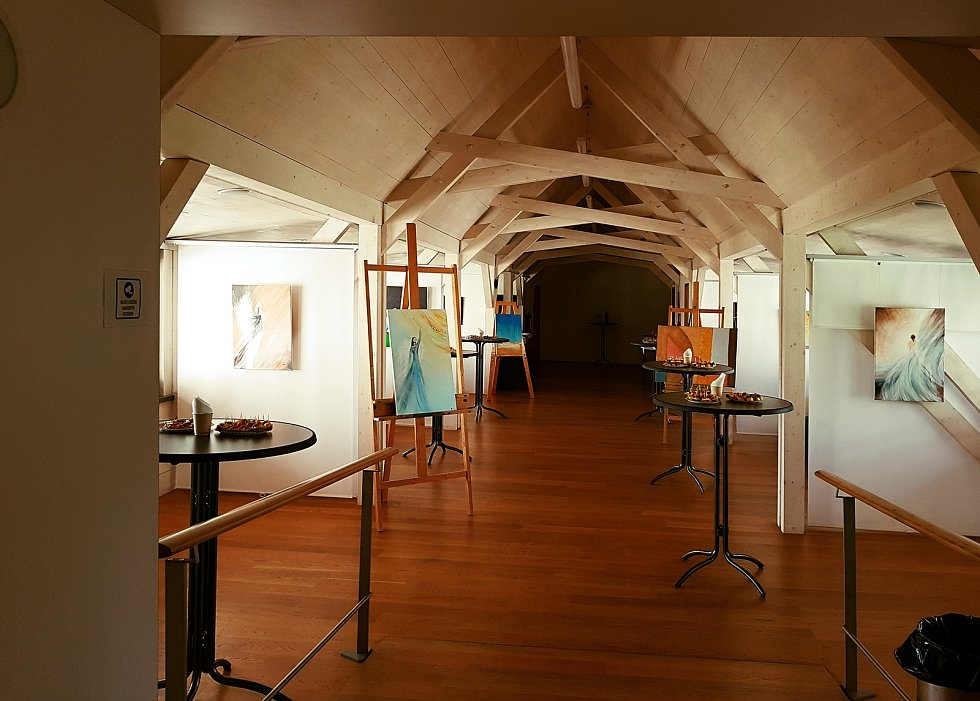 Výstava Andělé a my