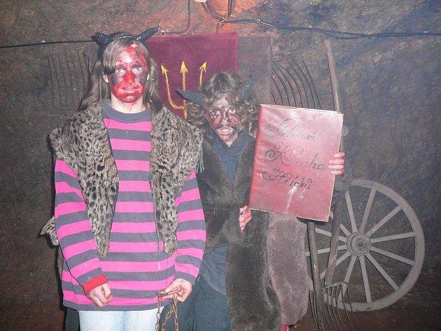 Ve Světlé otevřeli peklo ve středověkém podzemí už v úterý.