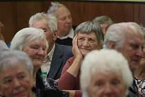 Setkání seniorů 80+ v Horním Studenci na Ždírecku.