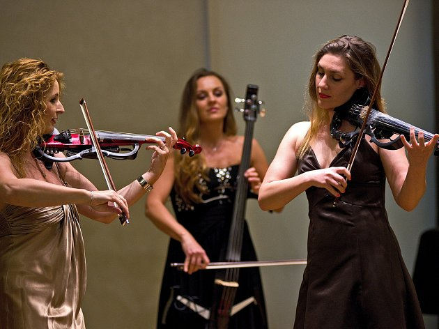 V Brodě zazněla premiéra skladby slavného rodáka Stamice v úpravě na elektronické smyčce. Skladbu ke skladatelovým 300. narozeninám nastudovalo trio Inflagranti.