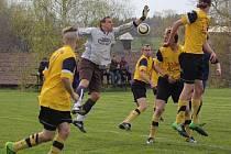 Po roce se do III. třídy vracejí z okresního přeboru fotbalisté Dolního Města.