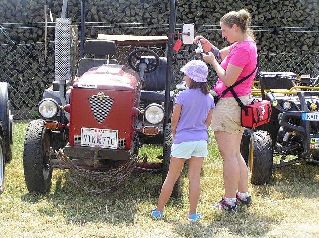 Vilémovská traktoriáda letos už pojedenácté