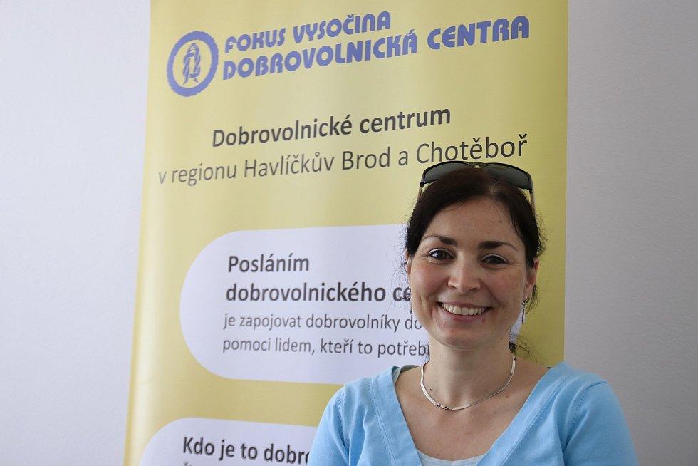 Jana Valová, koordinátorka havlíčkobrodského a chotěbořského centra.