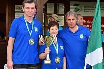Loňské vítězné ždírecké družstvo startovalo ve složení: Bohumír Nikl, Aleš Bažout a Markéta Culková.