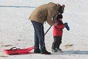 Sobota 3. března ve skiareálu Kadlečák.