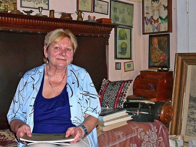 Radana Panušková je hovorná, milá dáma.