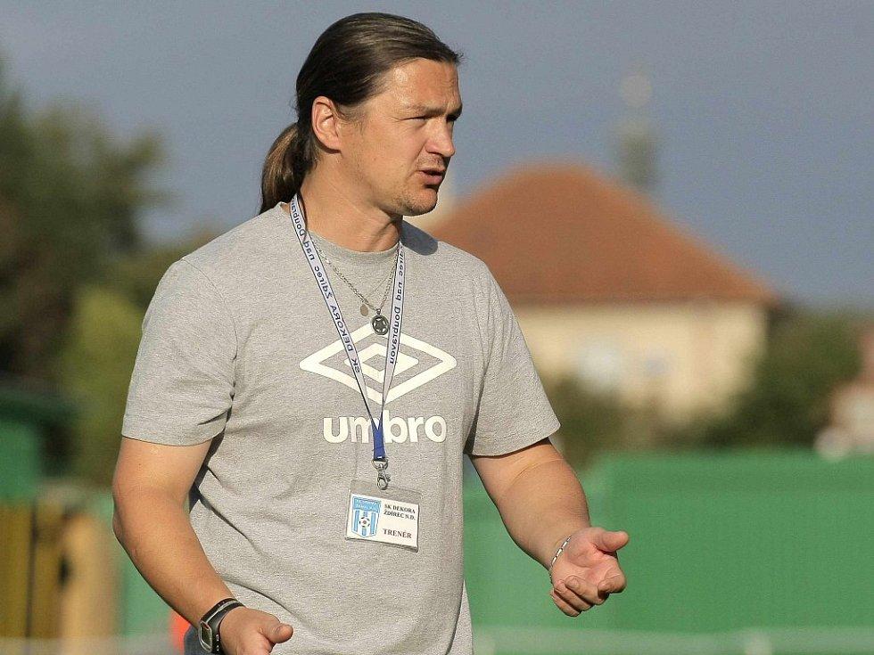 Ždírecký trenér Miroslav Plíšek musí najít živou vodu pro svůj tým. V krajském přeboru se ocitl v situaci, kterou vůbec nezná.