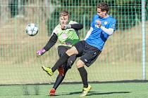 Fotbalisté Žďáru nasázeli před startem jarní části divize D Havlíčkovu Brodu šest gólů.