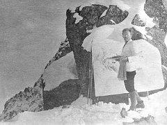 Otakar Štáfl maloval ve Vysokých Tatrách - 20. léta 20. stol. - Namaloval stovky akvarelů a olejů Tatranskou tématikou.