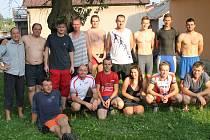 Účastníci závodu.