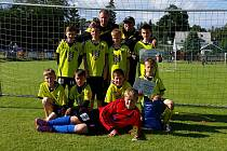První místo si přivezli malí fotbalisté chotěbořské Bocy z mezinárodního turnaje, který se konal v Rýmařově.