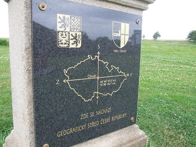 Střed České republiky v Číhošti