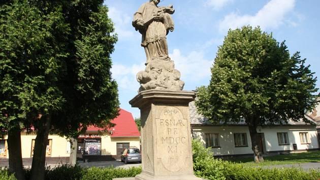 Sv. Jan Nepomucký.