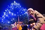 Rozsvícení vánočního stromu v Havlíčkově Brodě