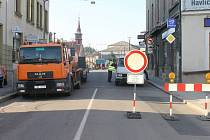 Kraj Vysočina uzavřel most v brodské Dolní ulici.