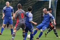Tři góly dali fotbalisté Starého Ranska na hřišti přibyslavského béčka a odvezli si tři body za výhru 3:2.