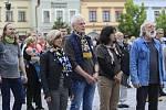 Protestní akce Milionu chvilek v Havlíčkově Brodě.