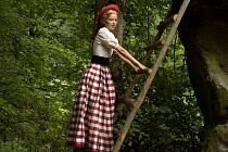 Princezna z Brodu. Marika Šoposká hraje princeznu Mařinku.