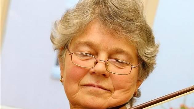 Učitelka Jitka Němcová.