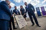 Zahájení stavby nové budovy věznice ve Světlé nad Sázavou.