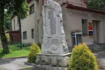 Pomník v Pohledu.