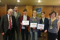 Studenti gymnázia uspěli v soutěži Junior Erb.
